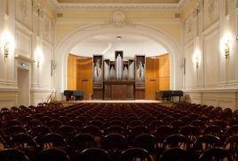 4 мая Малый зал Консерватории им. Чайковского